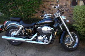 My Motorcycle: 1999 Honda Shadow, Ace 750cc