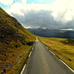 The road down from Slættaratindur. What road will you follow next?